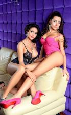 Lesbian Escorts Sonya And Tina Hot Duo Service In Abu Dhabi