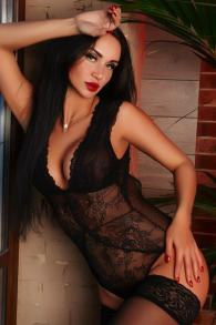 Extremely Affectionate Escort Briley Sexy Stockings Lingerie High Heels Shoes See You Soon Tecom Dubai